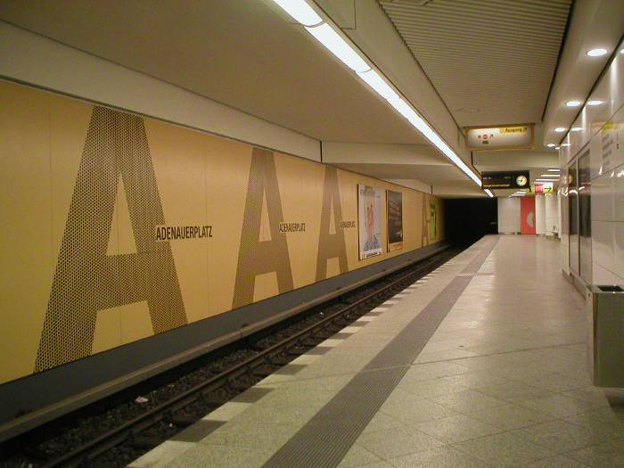 U-Bahnhof Adenauerplatz (U7)