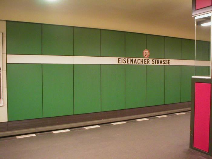 U-Bahnhof Eisenacher Straße