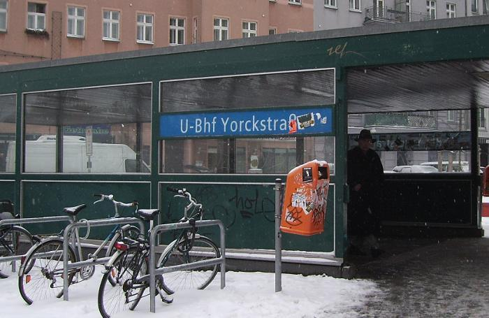 U-Bahnhof Yorckstraße (U7)