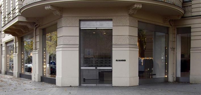 JIL SANDER Boutique am Kurfürstendamm