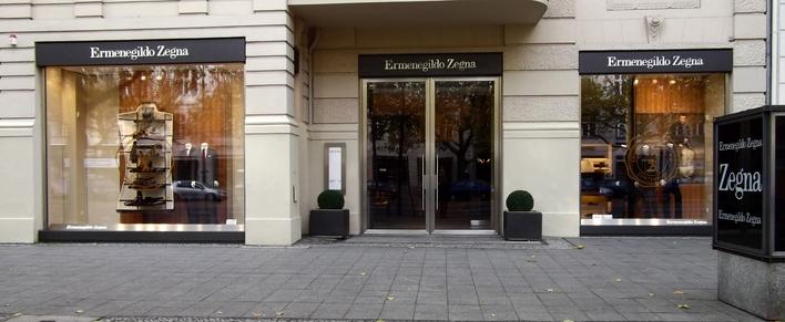 Ermenegildo Zegna Boutique am Kurfürstendamm