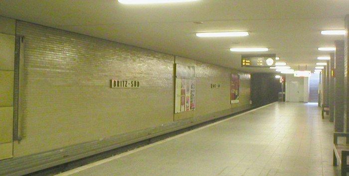 U-Bahnhof Britz-Süd