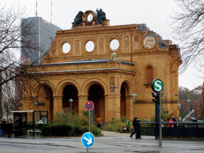 S-Bahnhof Anhalter Bahnhof