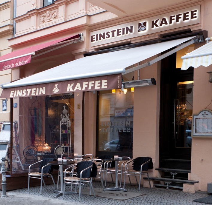 Einstein Coffeeshop - Bergmannstraße