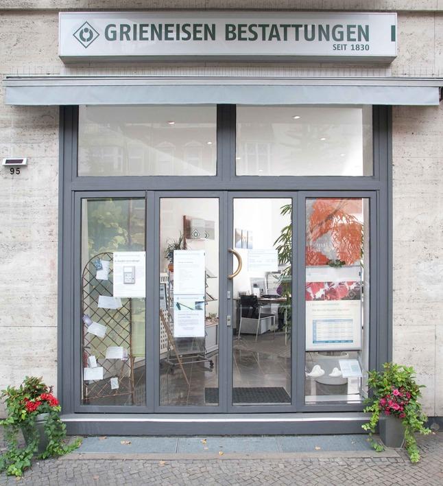 Grieneisen Bestattungen in der Berliner Straße