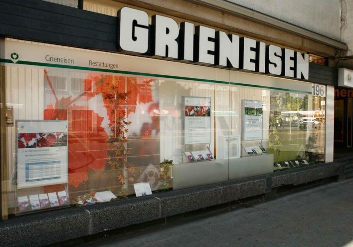 Grieneisen Bestattungen in der Oranienburger Straße