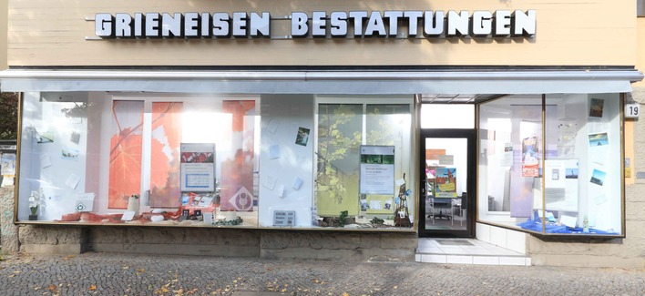 Grieneisen Bestattungen in der Bahnhofstraße