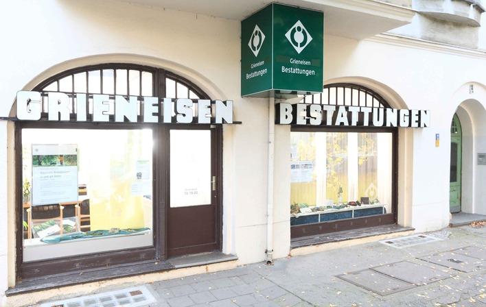 Grieneisen Bestattungen in der Ossietzkystraße