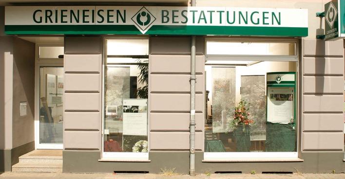 Grieneisen Bestattungen in der Dörpfeldstraße