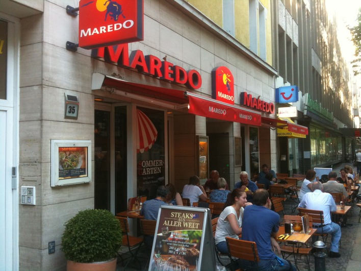 Maredo Steakhouse Ged Chtniskirche Steakhaus In Berlin