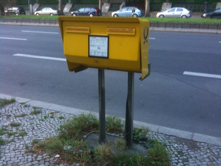 Briefkasten Hardenbergstrasse 7