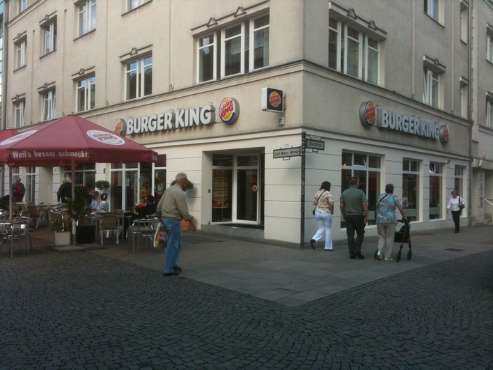 burger king carl schurz stra e fast food in berlin spandau kauperts. Black Bedroom Furniture Sets. Home Design Ideas