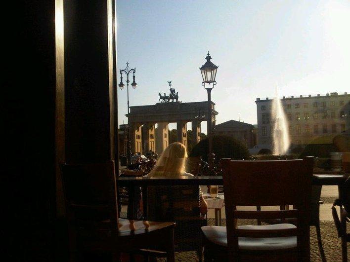 Blick aus dem Starbucks - Pariser Platz