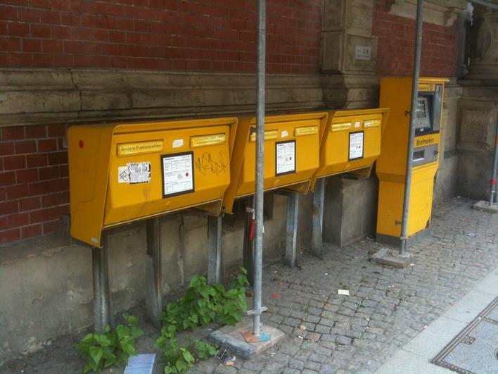 Briefkasten Carl-Schurz-Straße 17