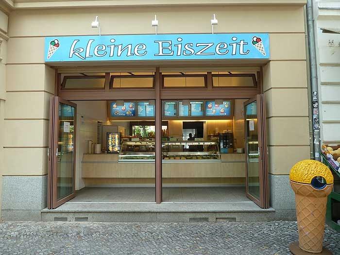 kleine Eiszeit, Eisladen im Prenzlauer Berg