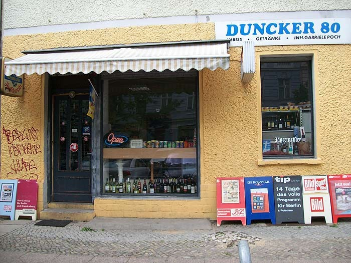 Kios Duncker 80