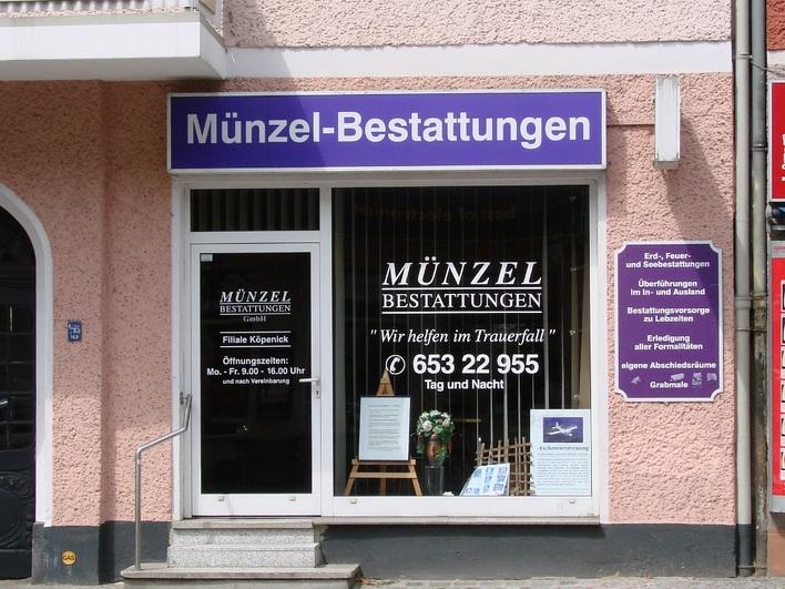 Münzel Bestattungen - Bahnhofstraße
