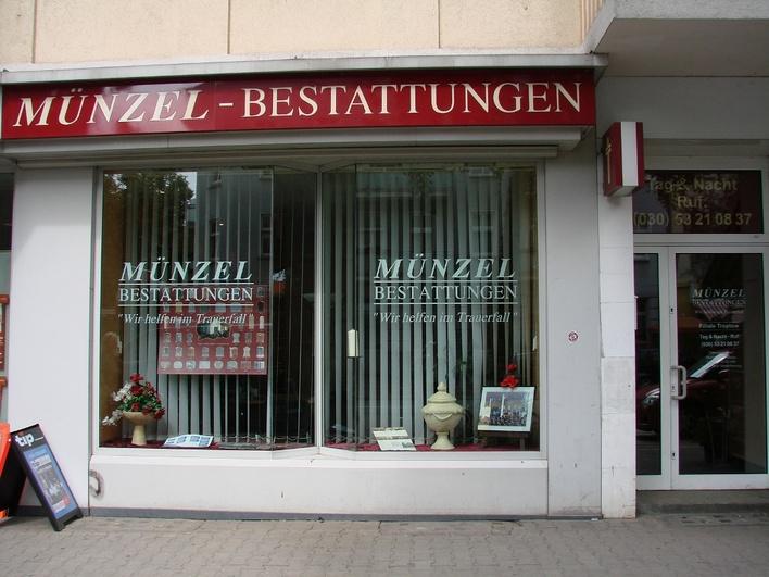 Münzel Bestattungen - Baumschulenstraße