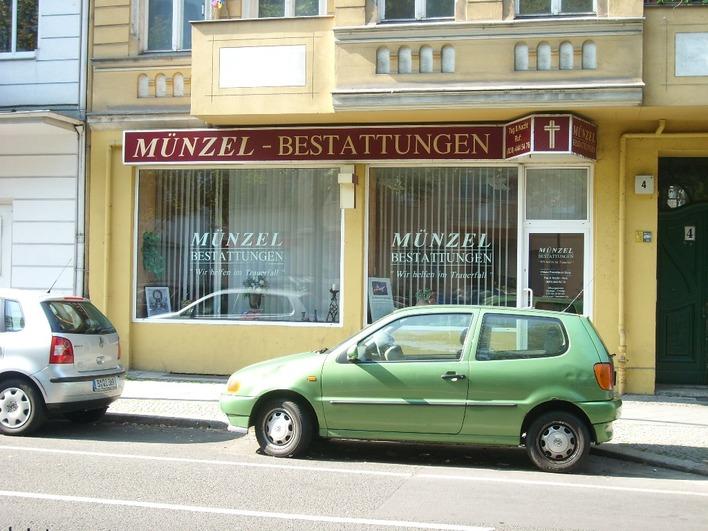 Münzel Bestattungen - Wichertstrasse