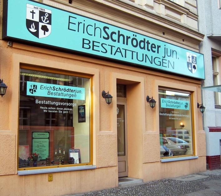 Erich Schrödter junior Bestattungen