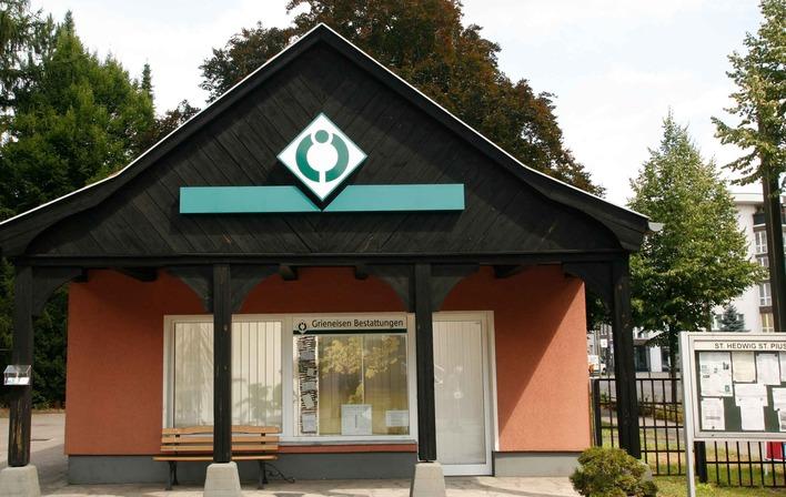 Grieneisen Bestattungen in der Konrad-Wolf-Straße