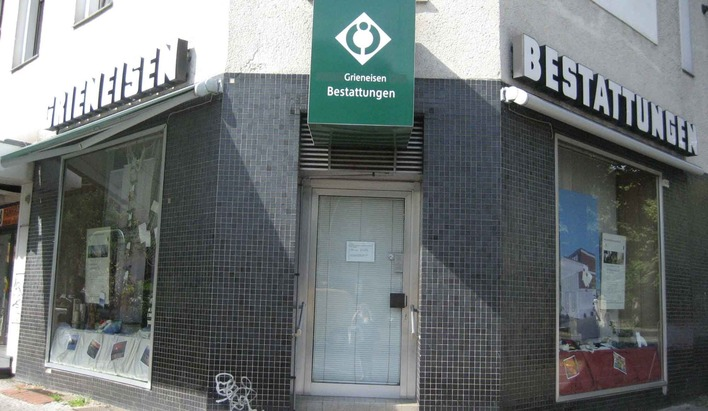 Grieneisen Bestattungen in der Müllerstraße