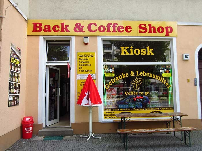 Back & Coffee Shop