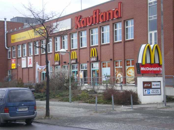 McDonald's am Juliusturm