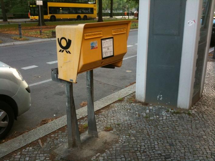 Briefkasten Reichsstraße 36