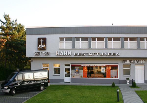 HAHN Bestattungen in der Reißeckstraße, Filiale Alt-Mariendorf