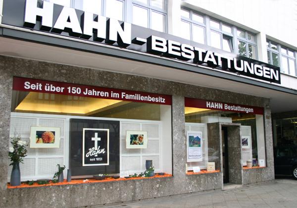 HAHN Bestattungen in der Kaiser-Wilhelm-Straße,Filiale Lankwitz