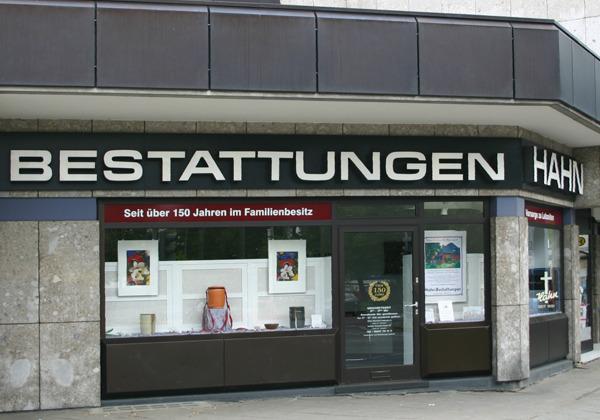 HAHN Bestattungen in der Goltzstraße, Filiale Lichtenrade