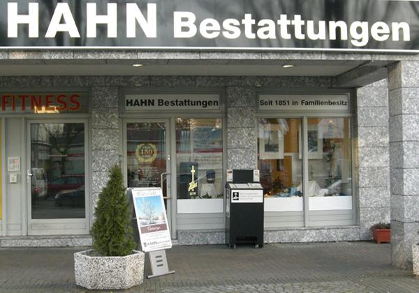 HAHN Bestattungen in der Berliner Straße, Filiale Zehlendorf