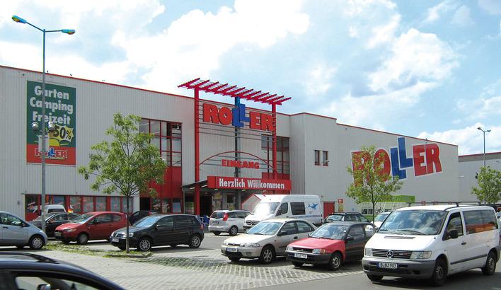 ROLLER-Filiale in Steglitz