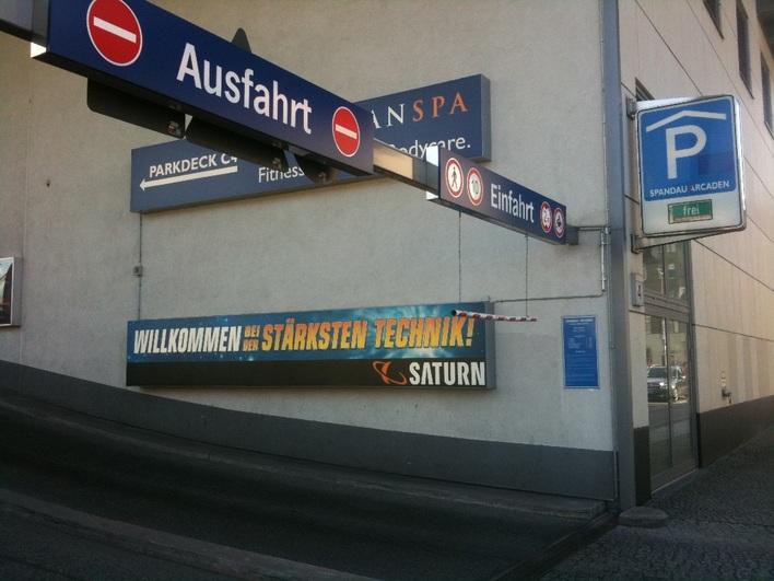Parkhaus Spandau Arcaden