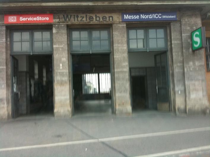 S-Bahnhof Witzleben - Messe Nord / ICC