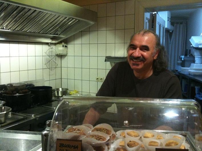 baharat falafel, der Chef Meshal Hasan