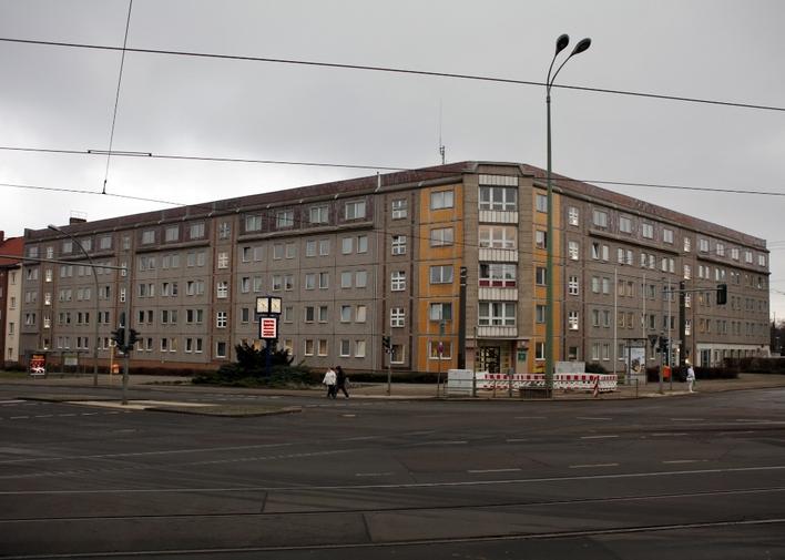 Polizeiabschnitt 14 in der Berliner Allee in Berlin-Weißensee
