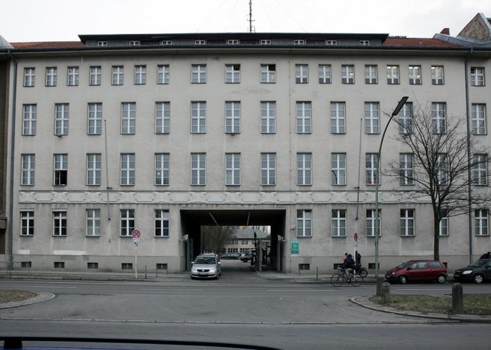 Polizeidirektion 1 in der Pankstraße in Berlin-Gesundbrunnen