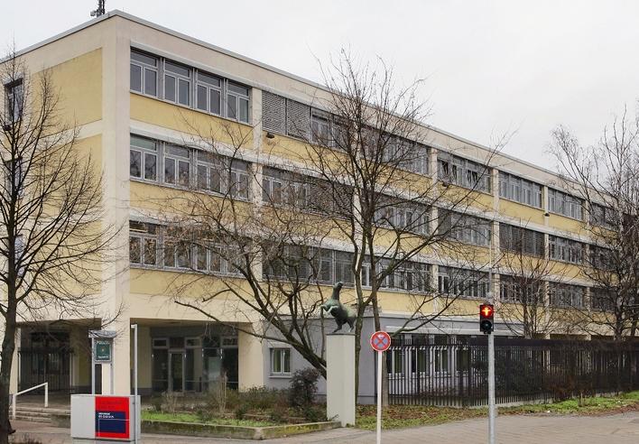 Polizeiabschnitt 21 in der Moritzstraße in Berlin-Spandau