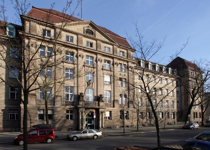 Polizeiabschnitt 41 in der Gothaer Straße in Berlin-Schöneberg