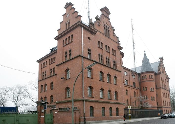 Polizeiabschnitt 52 in der Friesenstraße in Berlin-Kreuzberg
