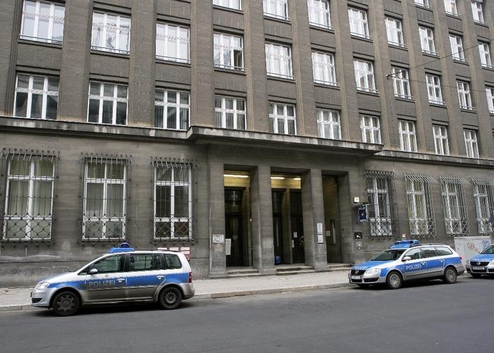 Polizeiabschnitt 53 in der Friedrichstraße in Berlin-Kreuzberg