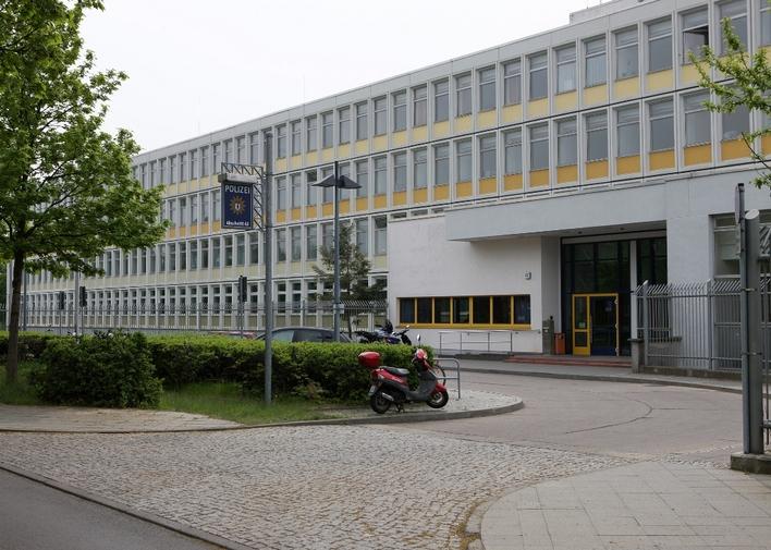 Polizeiabschnitt 62 in der Cecilienstraße in Berlin-Biesdorf