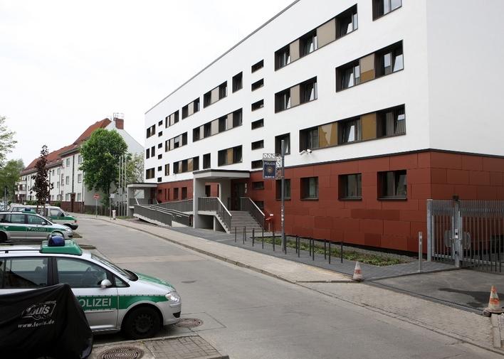 Polizeiabschnitt 66 in der Karlstraße in Berlin-Köpenick