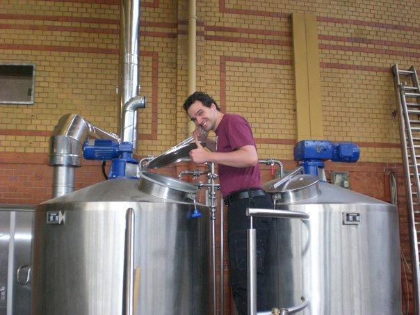 Die Brauerei BrewBaker am ehemaligen Standort in der Arminius Markthalle