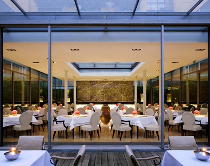 Gourmet-Restaurant FACIL im The Mandala Hotel.