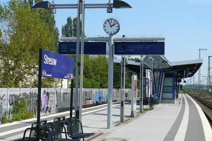 S-Bahnhof Stresow