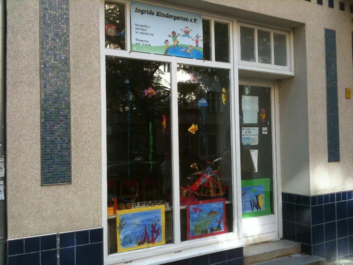 EKT - Ingrids Kindergarten e.V. in der Holtzendorffstraße.