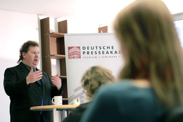 Die depak Presseakademie befindet sich am Werderscher Markt 13 in Berlin-Mitte.